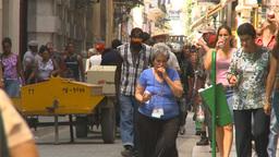 HD2009-4-4-42 Havana street Stock Video Footage