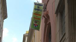 HD2009-4-4-48 Havana street propoganda Stock Video Footage