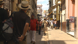 HD2009-4-4-50 Havana street Stock Video Footage