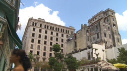 HD2009-4-4-52 Havana street Stock Video Footage