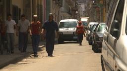 HD2009-4-4-54 Havana street Stock Video Footage