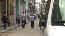 HD2009-4-4-56 Havana street Stock Video Footage