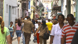 HD2009-4-4-58 Havana street Stock Video Footage
