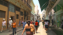 HD2009-4-4-60 Havana street Stock Video Footage