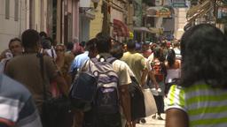 HD2009-4-4-62 Havana street Stock Video Footage