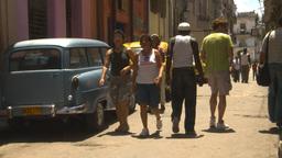 HD2009-4-4-64 Havana street Stock Video Footage