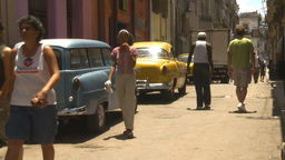HD2009-4-4-64 Havana street Stock Video Footage