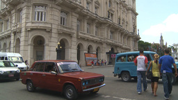 HD2009-4-4-68 Havana street Stock Video Footage