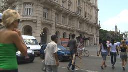 HD2009-4-4-68 Havana street Stock Video Footage