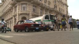 HD2009-4-4-70 Havana street Stock Video Footage