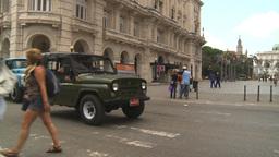 HD2009-4-4-72 Havana street Stock Video Footage