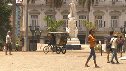 HD2009-4-4-74 Havana street Stock Video Footage