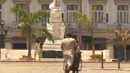 HD2009-4-4-76 Havana street Stock Video Footage