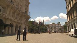 HD2009-4-4-78 Havana street Stock Video Footage