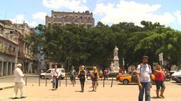 HD2009-4-4-82 Havana street Stock Video Footage