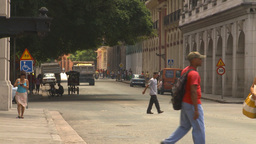 HD2009-4-4-86 Havana traffic Stock Video Footage