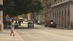 HD2009-4-4-86 Havana traffic Stock Video Footage