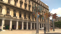HD2009-4-4-90 Havana mall Stock Video Footage