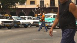 HD2009-4-4-92 Havana traffic Stock Video Footage