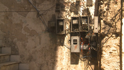 HD2009-4-5-4 Havana insane wiring Stock Video Footage