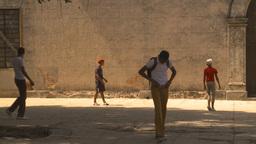 HD2009-4-5-10 Havana kids soccer Stock Video Footage
