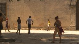 HD2009-4-5-10 Havana kids soccer Footage