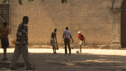 HD2009-4-5-10 Havana kids soccer Stock Video Footage