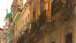 HD2009-4-5-12 Havana neighborhood Stock Video Footage