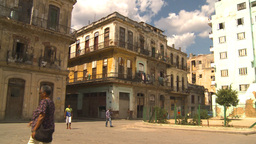 HD2009-4-5-14 Havana neighborhood Stock Video Footage