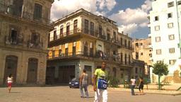 HD2009-4-5-14 Havana neighborhood Stock Video Footage