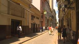HD2009-4-5-16 Havana street Stock Video Footage