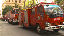 HD2009-4-5-20 Havana fire trucks Footage