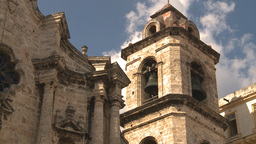 HD2009-4-5-22 Havana cathedral square Stock Video Footage