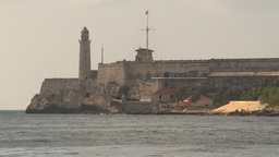 HD2009-4-5-34 Havana fort el morro Stock Video Footage