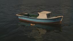 HD2009-4-5-38 Havana fishingskiff Stock Video Footage