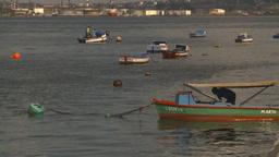 HD2009-4-5-40 Havana fishingskiff Stock Video Footage