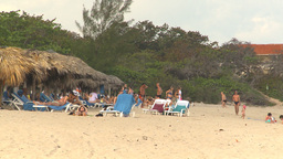 HD2009-4-6-4 Cuba beach Stock Video Footage