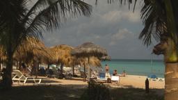 HD2009-4-6-8 Cuba beach Stock Video Footage