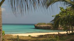 HD2009-4-6-12 Cuba beach Stock Video Footage