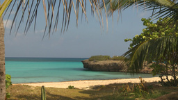 HD2009-4-6-12 Cuba beach Stock Video Footage