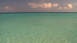 HD2009-4-6-18 Cuba beach green water Footage
