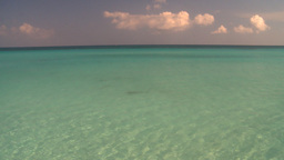 HD2009-4-6-18 Cuba beach green water Stock Video Footage