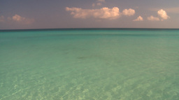 HD2009-4-6-18 Cuba beach green water Stock Video Footage