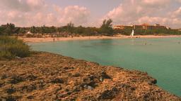 HD2009-4-6-20 Cuba beach Stock Video Footage