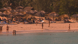 HD2009-4-6-22 Cuba beach Footage