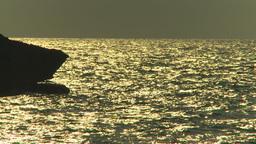 HD2009-4-6-30 Cuba beach sunset Stock Video Footage
