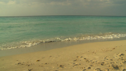 HD2009-4-6-33 Cuba beach sunset Stock Video Footage