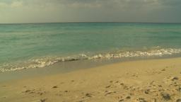 HD2009-4-6-33 Cuba beach sunset Stock Video Footage