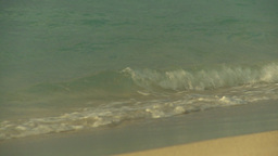 HD2009-4-6-41 Cuba beach sunset Stock Video Footage