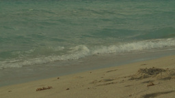 HD2009-4-6-43 Cuba beach sunset slomo Footage